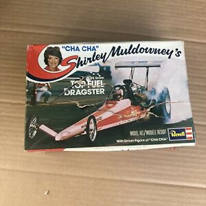 Shirley Muldowney Dragster Model Kit As Is