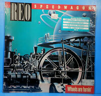 REO SPEEDWAGON WHEELS ARE TURNIN' 1984 SHRINK GREAT CONDITION! VG++/VG++!!A