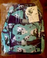 Pottery Barn Kids Aqua Panda SMALL BACKPACK NEW!