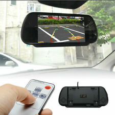 "HD 7"" LCD TFT Color Screen Car Reverse Rearview Backup Camera DVD Mirror Monitor"