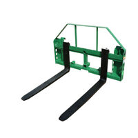 Titan Attachments 50-in Pallet Fork Frame Attachment, 4,000 LB Capacity