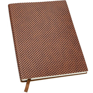 """Textured Notebook: 5""""x8"""", 192 Pages (96 Sheets), Lined Ruled (Black)"""