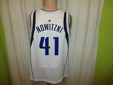 Dallas Mavericks Original Champion Authentic NBA Trikot + Nr.41 Nowitzki Gr.S- M