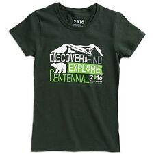 National Park Service Centennial 100 Year Anniversary Ladies T-shirt  XL