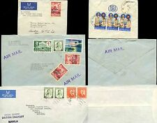 PHILIPPINES 1961 AIRMAIL DIPLOMATIC OFFICAL ENVS + SCOUT JAMBOREE OPTS...3 ITEMS