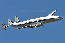 "Giant Scale Lockheed SUPER CONSTELLATION scratch build R/c Plane plans 132""WS"