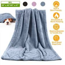Pet Cat Dog Blanket for Medium Large Dogs Puppy Cat Throw Blanket Soft Warm Mat