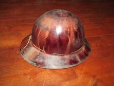 Vintage MSA Skullgard Type K Hardhat Full Brim Miner Mining Safety Helmet