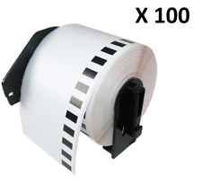 100 x Compatible Brother DK11202 Thermal 62x100mm Shipping Labels For QL-500A
