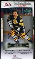 Brad Park JSA Coa Hand Signed 2007 Parkhurst Autograph