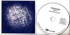 HAUSCHKA What If 2017 UK 9-track promo CD with PVC sleeve