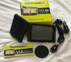 "TomTom VIA 1530 TM - US, Canada & Mexico Automotive GPS 5"" Screen New Open Box"