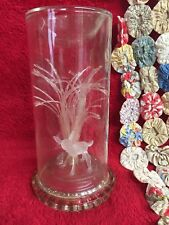 Vintage Glass Encased Bambi Figurine Displayed in Sealed Glass Decorative Case