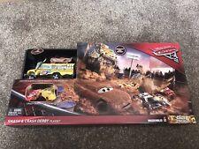 Disney Pixar Cars 3 Crazy 8 Smash and Crash Derby Playset - BNIB