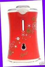 1 Lysol No-Touch Hand Soap Dispenser COVER Red Snowflake Decor Design NO UNIT