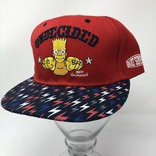 The Simpsons Bart Simpson UNDECIDED SnapBack Hat Baseball Cap Underachiever