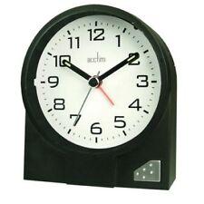 Acctim Leon Black Alarm Clock
