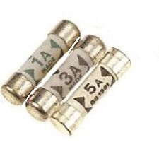Shaver plug Fuses  (Pack of 2x1amp, 2x3amp, 2x5amp)