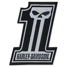 Harley Davidson Emblem #1 Skull EM718302