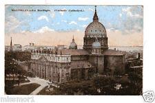 Vintage 1921 Postcard La Basilique Catholic Cathedral Quebec Canada