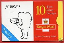 "Kx8 1996 Cartoons. ""More! Love"" Design Greeting Booklet"