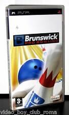 BRUNSWICK PRO BOWLING GIOCO USATO BUONO STATO PSP EDIZIONE ITALIANA PG
