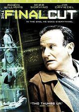 The Final Cut (DVD Movie) Robin Williams Mira Sorvino Sealed Wide NEW