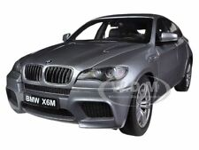 BMW X6 M SPACE GREY 1/18 DIECAST MODEL  CAR BY KYOSHO 08762