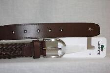 77bec03608fe91 Cinturones de cuero de hombre Lacoste