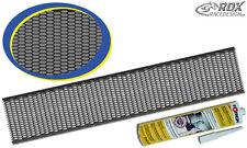 RDX Kunststoffgitter schwarz 150x30cm incl Kleber 310ml RaceGitter Plastikgitter