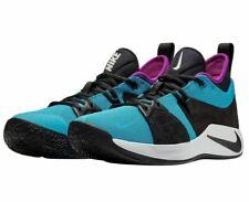 Nike PG 2 Men's Basketball Shoe Blue Lagoon/Black-Hyper Violet-White Size 9