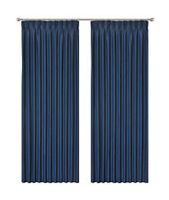 Blockout Pinch Pleat Curtain 3 Layers Fabric Blackout Drapes Room Darkening