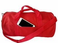 "18"" GYM BAG YOGA Duffle Duffel Bag Travel Bag Carry-On Sports Bags ALL COLOR"