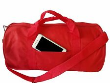 """GYM BAG YOGA Duffle Duffel Bag Travel Bag Carry-On Sports Bag 18"""" ALL COLOR"""