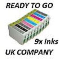 Inchiostro ora 9 (set completo) compatibili con cartucce di inchiostro per Epson Stylus Photo R2880