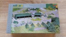 Herpa 745826 - 1/87 Bausatz Zelte (7 Stück) - Neu