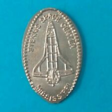 Shuttle Orbiter Stennis Space Center Mississippi Elongated Copper Penny Retired