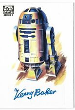 R2-D2 KENNY BAKER 2010 STAR WARS GALAXY SERIES 5 TOPPS AUTO AUTOGRAPH CARD!