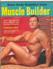 Muscle Builder Bodybuilding Fitness Magazine/Clarence Ross 12-54