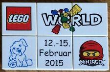 lwp09 LEGO World Denmark Puzzle Promo 2015 new promozione 12-15 febbraio ninjago