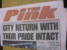 22/01/2000 Coventry Evening Telegraph The Pink: Main Headline Reads: City Return