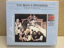 STRAVINSKY Conducts- The Rakes Progress 2-CD (MINT Sony Box Set) Tilney/Sadlers