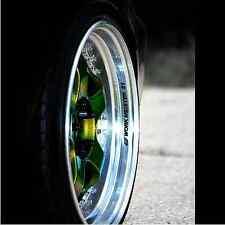 4 X WORK MEISTER S1 Wheel Decal JDM Car VINYL decal sticker