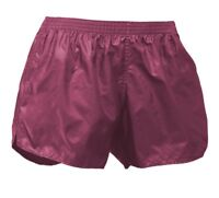 Soffe M610603MED Adult Wind Short 100 NL - Maroon Medium