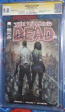 Walking Dead 100 cgc 9.8 Silvestri VariantSigned By Marc Silverstri