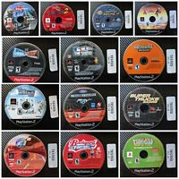 Assorted TESTED Playstation 2 (PS2) Games. Resurfaced & Tested SPORTS. Lot #3