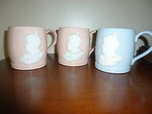 THREE COMMEMORATIVE CUPS  EDWARD V111