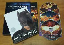 The Dark Knight Trilogy (DVD, 2012, 3-Disc Set, Limited Edition Gift Set) Batman