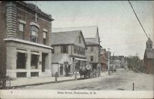 Newmarket NH Main St. #5 c1910 Postcard