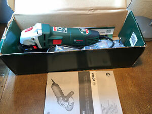 Bosch PWS 7-115 230v Corded Angle Grinder 700w Power Used Working Condition
